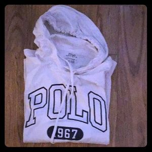 Polo Long sleeved w/ hood &tie cotton classic tee